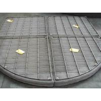 Best Customize Stainless Steel Filter Wire Mesh Demister Pads For Absorbers / Scrubbers wholesale