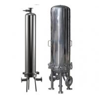 China stainless steel cartridge filter housing ro membrane element reverse osmosis systems on sale