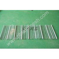 Cheap Stainless Steel Rib Lath Mesh , Hot Galvanized Expanded Metal Mesh for sale