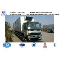 Best HOT SALE!high quality and lower price Japan ISUZU 6*4 LHD 20tons heavy duty refrigerator truck, cold room truck wholesale
