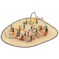 Best Luxury Style Rope Playground Equipment Climbing Structure Customized Size wholesale