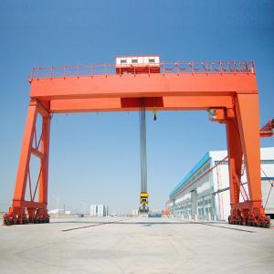 China Port Motorized Gantry Crane Double Girder 50 Ton Hoist Industrial Lifting on sale