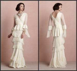 China Wedding Dress Wedding Gown (CH2775) on sale