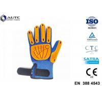 Best Metal Fitted Work PPE Safety Gloves Non Toxic Material Strong Grip Anti Slipping Palm wholesale