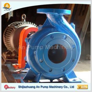 China Centrifugal End Suction Horizontal Sewage Pump on sale