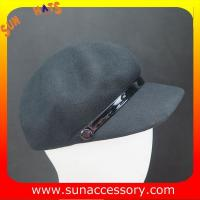 Best 2275 Sun Accessory customized fashion winter wool felt cowboy hats  ,women hats and caps wholesaling wholesale
