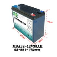 Best Lithium Power Pack 12v Car Backup Battery For Security Monitoring Device wholesale