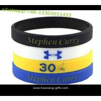 Buy cheap Cheap wholesale custom silicone wristband/bracelet 190*12*2mm any color from wholesalers