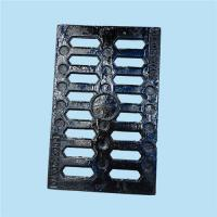 China Customized Rectangle Cast Iron Sewer Grate Shock Absorption Size 400mm X 500mm on sale