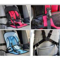 China Polyester Auto Storage Organizer , Baby Carrier Bag Multi Function Car Cushion on sale