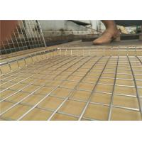 Cheap Welded Type Wire Basket Cable Tray For Put Something , 10-15mm Hole Size for sale