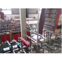 China WPC Composite Profiles Door Jamb profile wrapping machine with CE on sale
