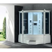 China Steam shower room for 2 person with LCD TV and radio on sale