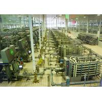 China Automated Brick - Shape Packaged Dairy Production Line For Pure / Reconstituted Milk on sale