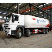 China Mobile Howo Propane Tank Truck / LPG Delivery Truck 8x4 36000 Liters ZZ1317N4667W on sale