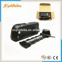 Best Safety 10Ah 36v Electric Bike Replacement Battery Pack , Downtube Battery For Electric Bike wholesale