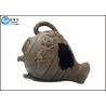 China Resin Crafts Rockery Landscaping Binaural Pot Aquarium Resin Ornaments wholesale