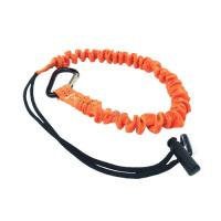 China Fall Protection Safety Rope Lanyard With Carabiner Hook Polyester Material on sale