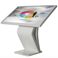 China Scratchproof 43 Inch Floor Self Service Touch Screen Kiosk on sale