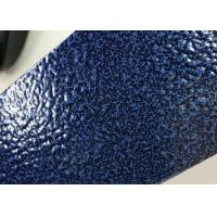 Best Blue Hammer Texture Thermosetting Outdoor Powder Coating Metallic Effect wholesale