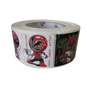 China Custom CMYK Cartoon Printing Kids Label Stickers Waterproof 50 mm * 50 mm on sale