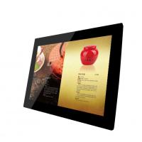 China Big 15 Inch Video / Audio HDMI LCD Digital Photo Frame With Clock And Calendar on sale
