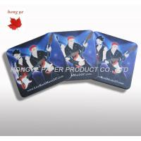 Best Simple Silk Screen Printing Absorbent Paper Coaster For Beer Cup wholesale