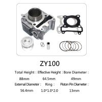 China Yamaha Motorcycle Cylinder Repair Kit ZY100 For Yamaha Jog 100 Scooter on sale