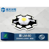 China Cool White 150-160LM 1W High Power White LED Bridgelux 45mil CRI70 on sale