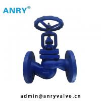 China Water Straight Pattern Globe Valve 4 Inch Pressure Seal A105 13%CR on sale