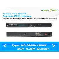 Buy cheap 8 Channel HD H.264 / MPEG4 Audio Video Encoder With 8CH HDMI Input / IP Output product