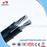 Best 1kv / 11kv Abc Cable Service Drop Duplex Conductor , B 399 Aluminum Underground Wire wholesale