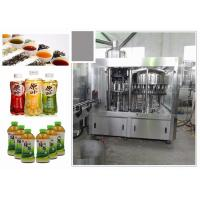 Best 6.68kw Standard 3-In-1 Monoblock Tea Filling Machine With Perfect CIP System wholesale