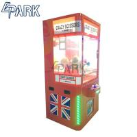 China Coin Operated Prize Catch Blush Toy Claw Crane Game Machine British Style on sale