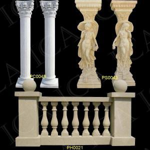 China Marble Pillar, Stone Pillar, Roman Pillar (PC0048, PS0043, PH0021) on sale