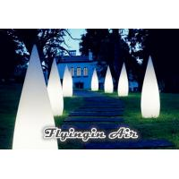 China Decorative Stage Light Inflatable Cone for Party and Yard Decoration on sale
