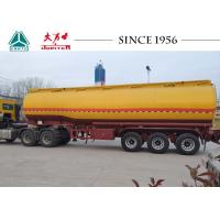 China Gasoline / Fuel Truck Trailer With Germany Type BPW Axle , High Efficiency on sale
