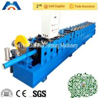 Best 100mm Round Downspout Pipe Roll Forming Machine Fly Saw Cutting Type wholesale