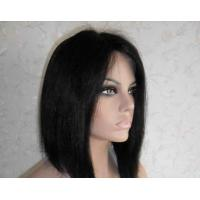 Buy cheap Professional Lace Front Human Hair Wigs 8 Inch Short Wigs from wholesalers