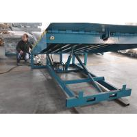 Buy cheap 6000Kg Stationary Container Loading Dock Ramp , Adjustable Hydraulic Dock Levelers from wholesalers