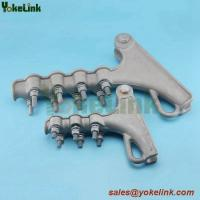 Best NLL Series Bolt Type Aluminum Alloy Strain Clamp for pole line accessories wholesale
