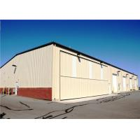 Best Durable Prefab Airplane Hangar Steel Structure With Sandwich Panel Wall & Roof wholesale