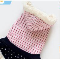 Best Pet Apparel Small Breed Dog Clothes Coat eco-friendly double sided fleece XXL M wholesale