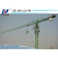 Best QTP4810 Topless Tower Crane Wire Rope 1.0ton Tip Load 48m Jib Crane wholesale
