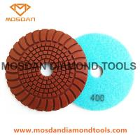 China Copper Hybrid Sunny Shine Dry Polishing Pads for Concrete Surface on sale