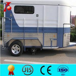 China Best horse trailer 3 horses angle load,semi horse trailer on sale