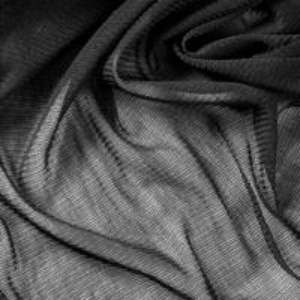 China Wholesale 100% Silk Mesh Fabric Black For Veil on sale