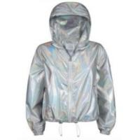 China Waterproof  Womens Woven Jacket Thin With Two Large Internal Pockets on sale