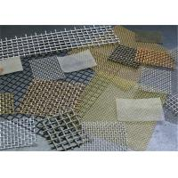 Best 1-120 Mesh Stainless Steel Crimped Wire Mesh / Cloth / Net For Smoking Pipe wholesale