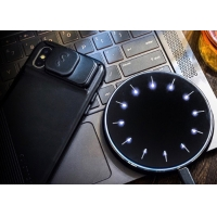 Best Universal Round Qi 10w Fast Charge 3 In 1 Wireless Charger For Iphone Samsung wholesale